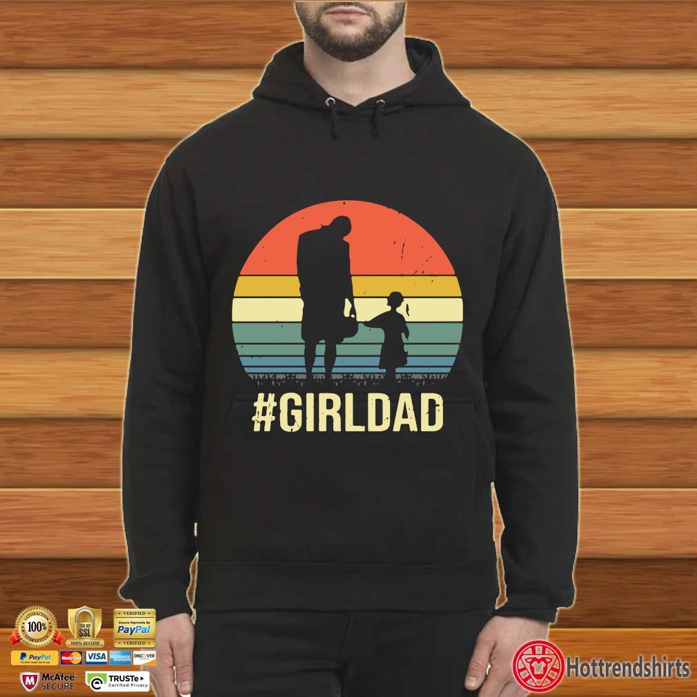 #Girldad vintage retro shirts Hoodie