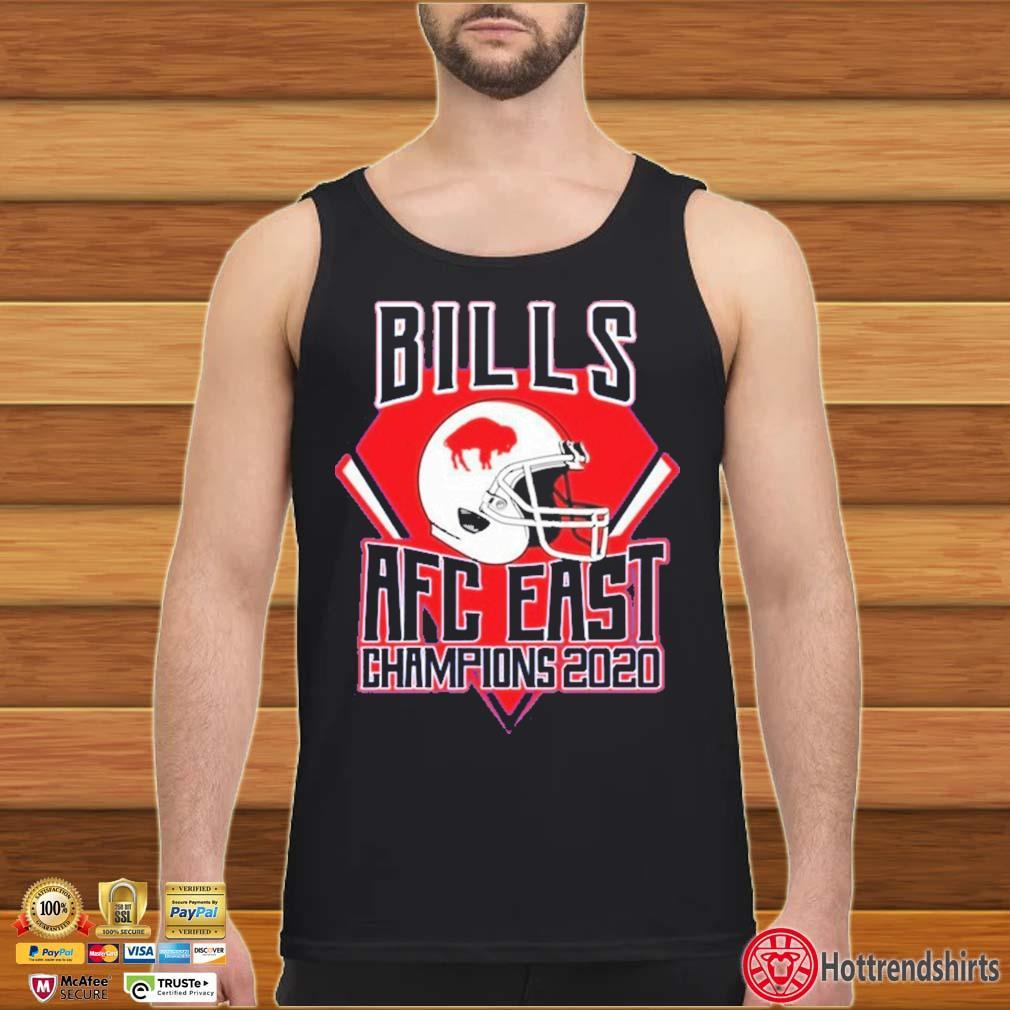 Buffalo Bills Football Club Afc East Champions 2020 Shirt Tank top den