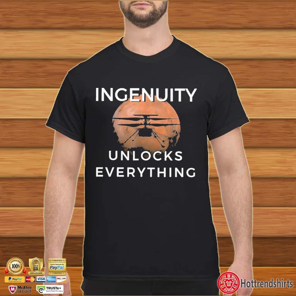 Land Rover Ingenuity Unlocks Everything Shirt
