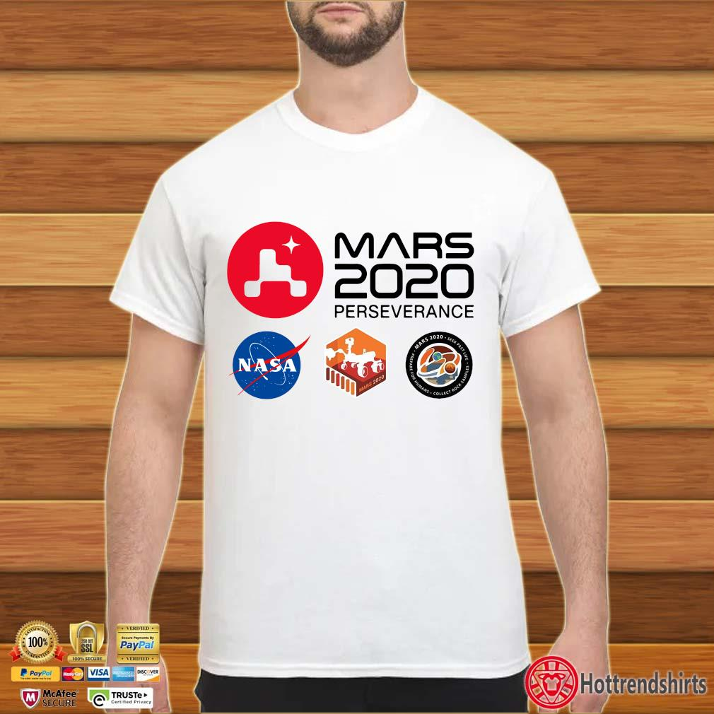 Official mars 2020 perseverance Nasa shirt
