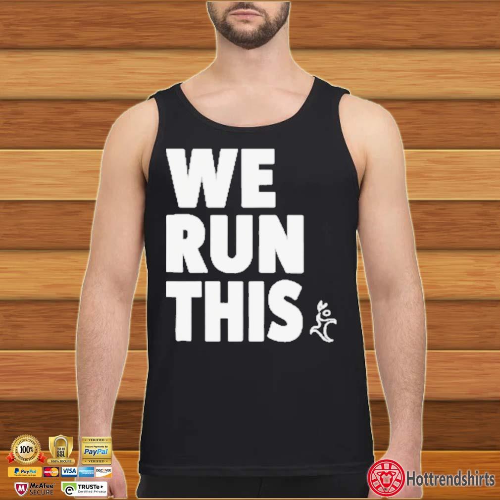 Runners Heel We Run This Shirt Tank top den