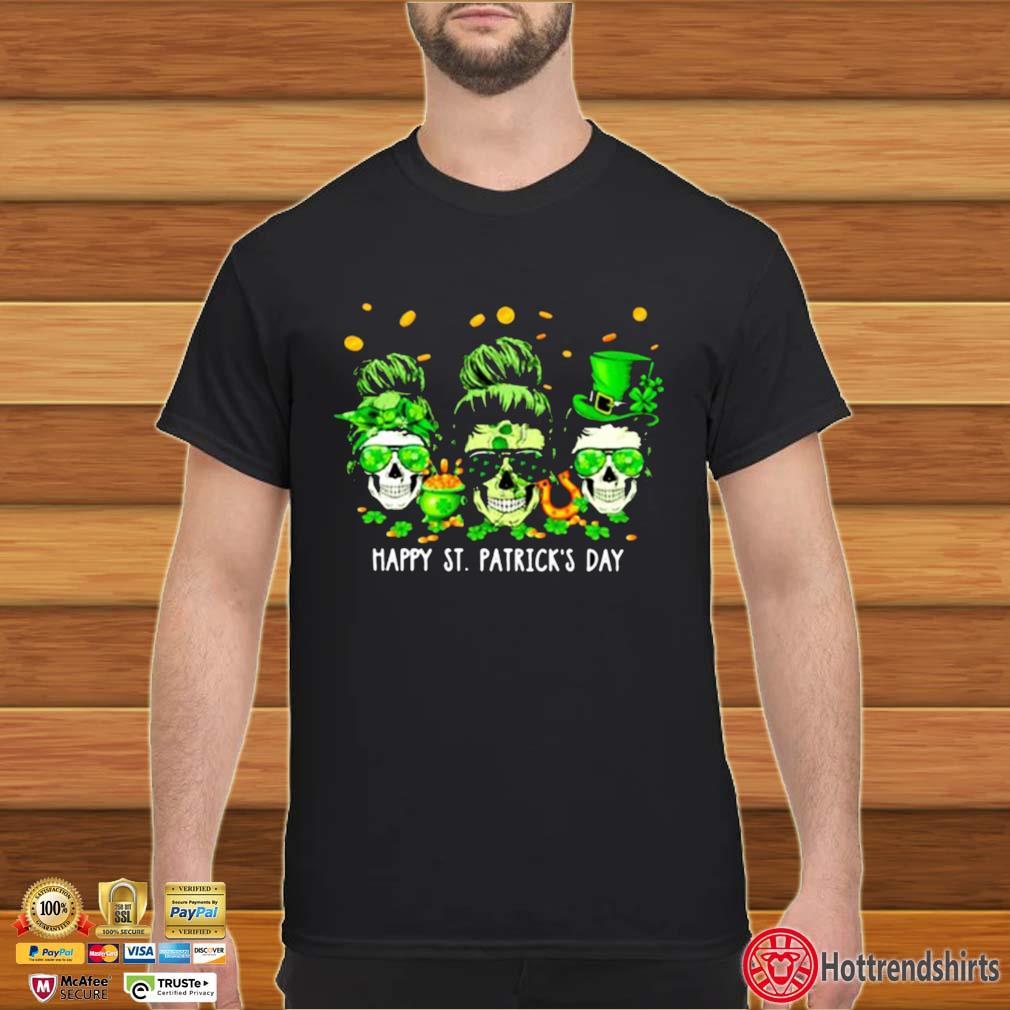 Skull Happy St Patrick's Day Shirt