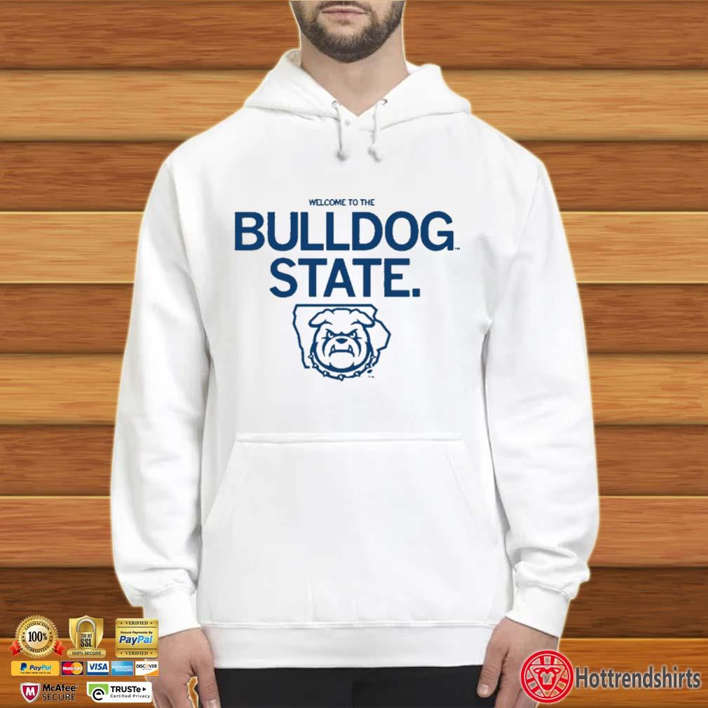 Welcome to the bulldog state s Hoodie trắng