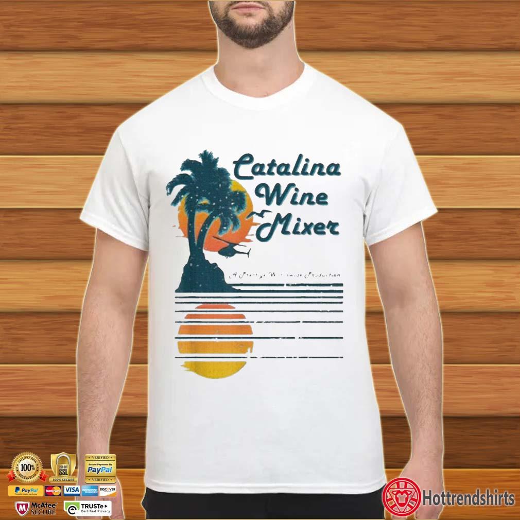 Catalina Wine Mixer Sunset Shirt