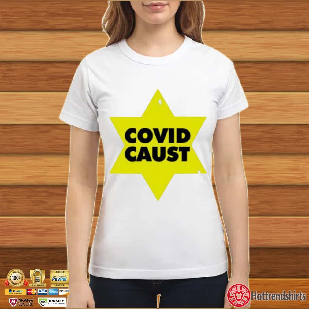 Covid Caust Shirt ladies trang