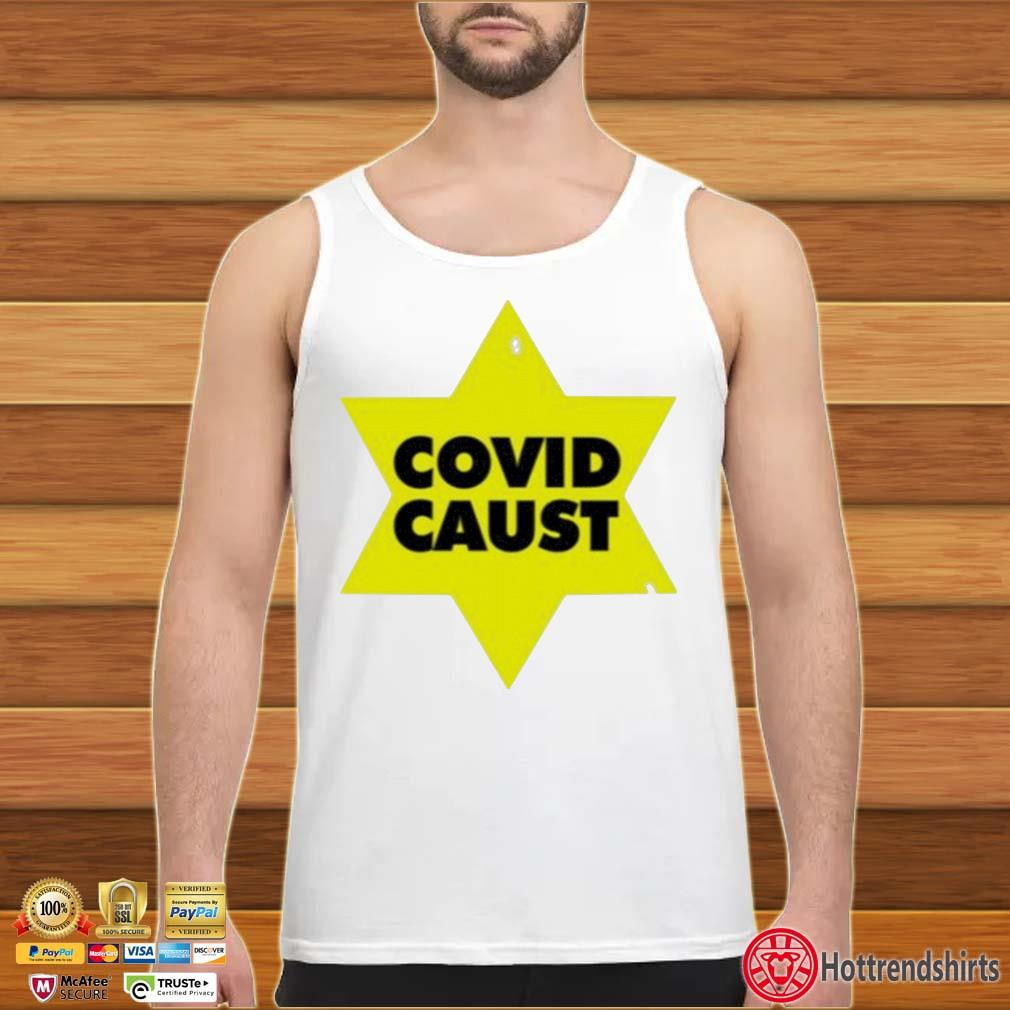 Covid Caust Shirt tank top trang