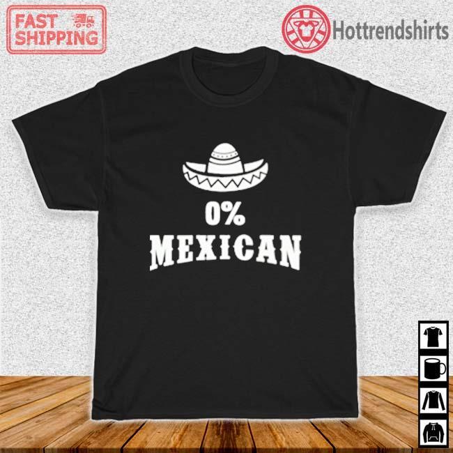 0' Mexican Cinco de Mayo Shirt