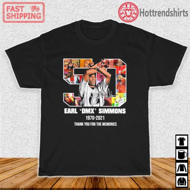 Earl DMX Simmons 1970-2021 Thank You For The Memories Shirt