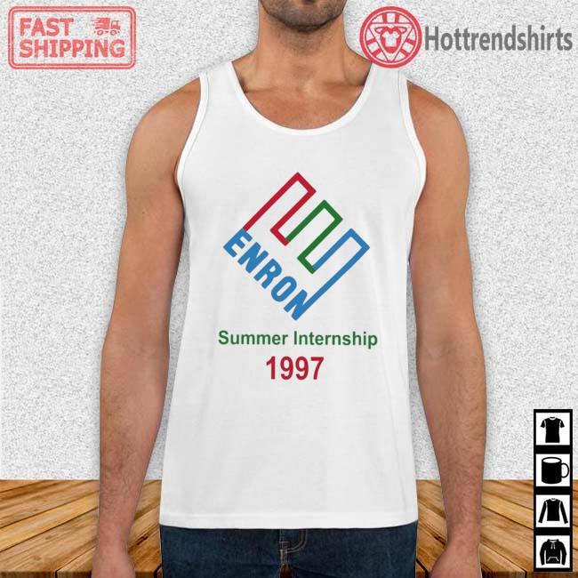 Enron Summer Internship 1997 Shirt Tank Top trang