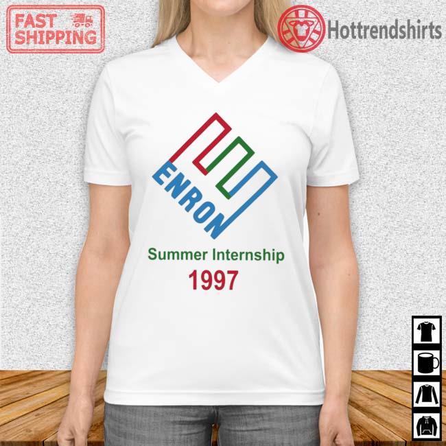 Enron Summer Internship 1997 Shirt Vneck trang