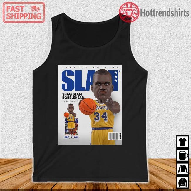 Limited Edition Slam Shaq Slam Bobblehead Shirt Tank top den