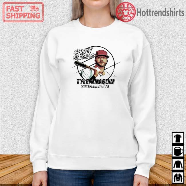 Naquin Dingers Tyler Naquin Shirt Sweater trang