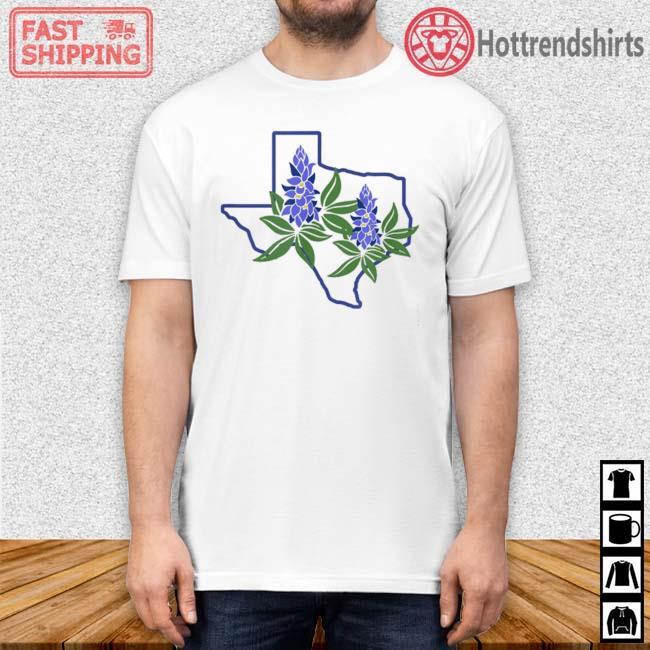 Texas Bluebonnet Wildflowers Shirt