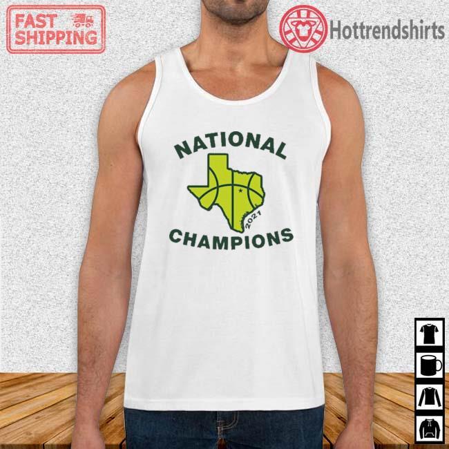 Texas Waco National Champions 2021 Shirt Tank Top trang