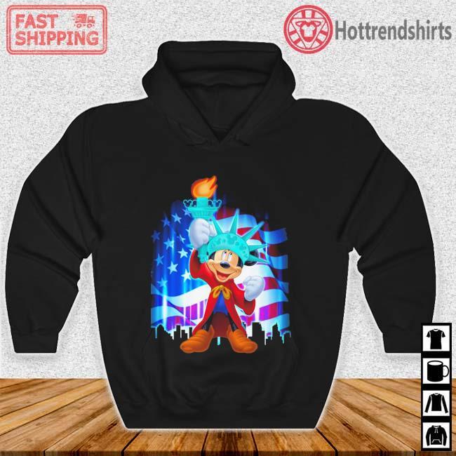 Mickey Mouse Liberties American Flag Shirt Hoodie den